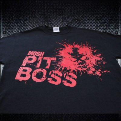 MoshPit Boss Heavy Metal Tshirt