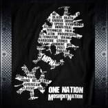 One Nation Tshirt Back Xup