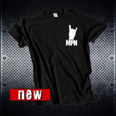 MoshPitNation Heavy Metal Boot Tshirt One Nation