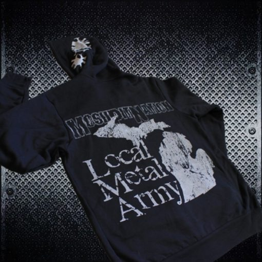 Michigan Local Metal Army Hoodie by MoshPit Nation