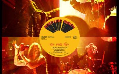 Ecstatic Vision – Raw Rock Fury