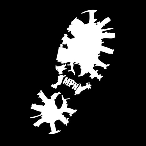 MPN Boot Decal - The Big One - MoshPitNation.com
