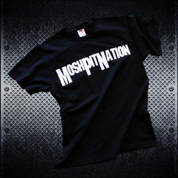 Mosh Pit Nation Logo Tee Guys - Front