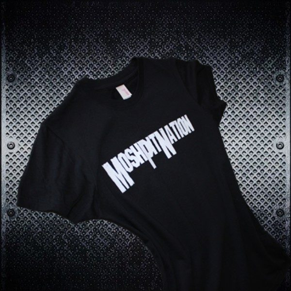 Mosh Pit Nation Logo Tshirt Chicks