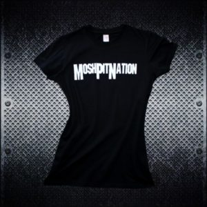 Mosh Pit Nation Logo Tshirt - Front