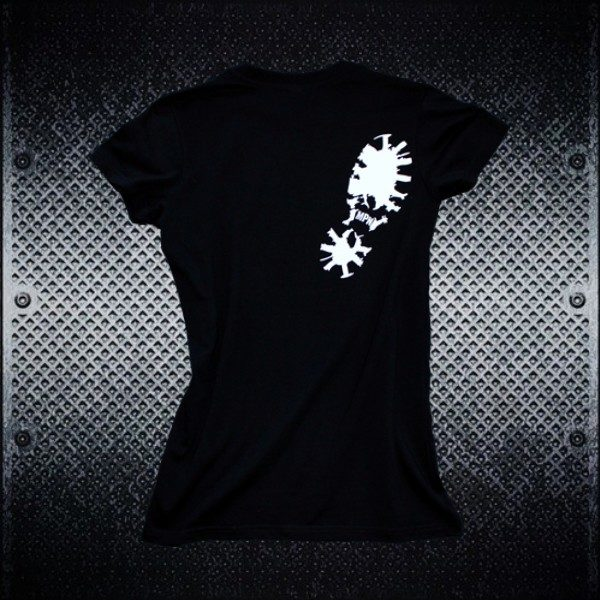 Mosh Pit Nation Logo Tee Chicks - Back