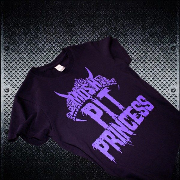 Mosh Pit Princess - Girls Heavy Metal Tshirts 1