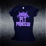 Mosh Pit Princess - Girls Heavy Metal Tshirts 2