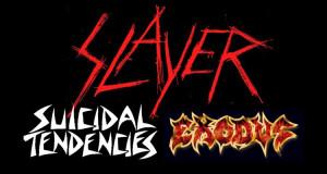 Slayer Show Flier 2014