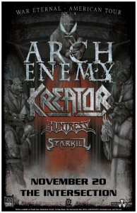 Arch Enemy The Intersection 2014