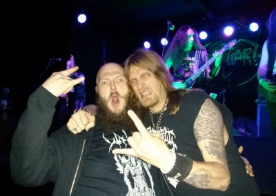 Tim RIP and Kelly at Obituary