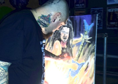 dimebag painting - Greg Lewis