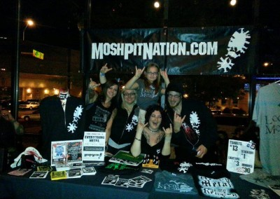 merch crew with Dez 5-17-13