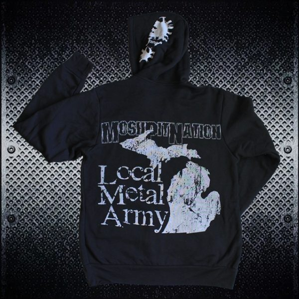 MI Local Heavy Metal Army Hoodie by MoshPit Nation