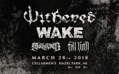 Five Thoughts: Withered/Wake at Cellarmen's, March 28th, 2018