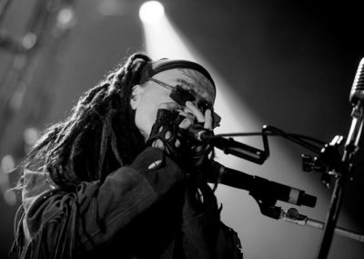 Al Jourgensen of Ministry at 20 Monroe Live - Jeff Brinn Photography
