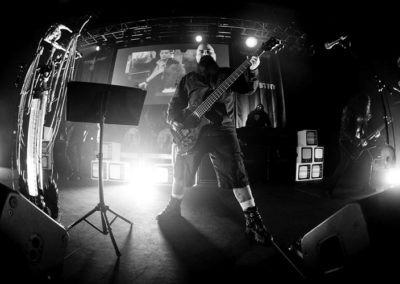 Tony Campos of Ministry at 20 Monroe Live - Jeff Brinn Photography