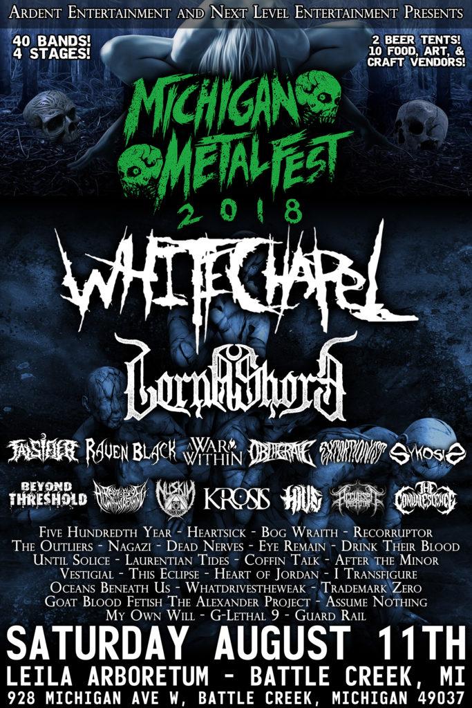Michgan Metal Fest 2018