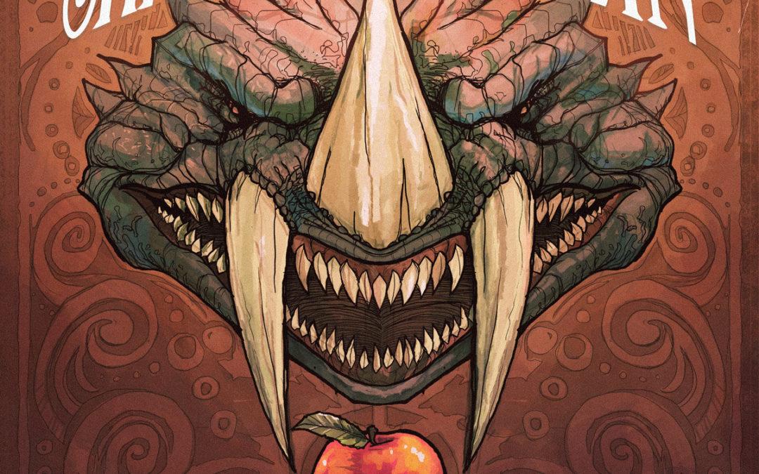 Skraeckoedlan – Äppelträdet