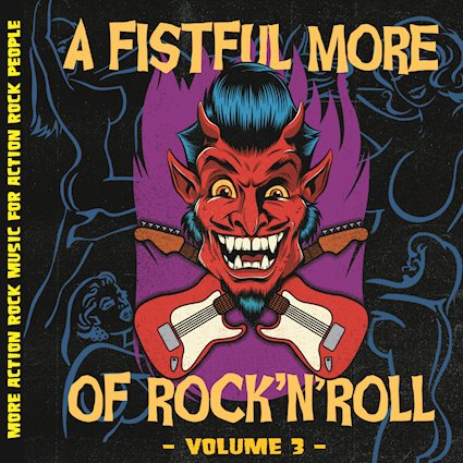 Various Artists – A Fistful MORE of Rock n' Roll, Vol. 3