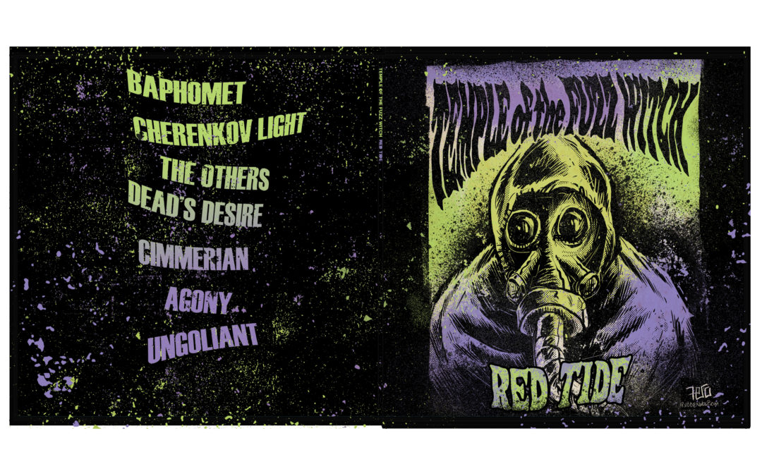 EXCLUSIVE ALBUM STREAM: Temple of the Fuzz Witch – Red Tide